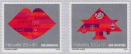 Switzerland - 2019 - Pro Juventude - For Youth - Mint Self-adhesive Stamp Set With Charity Surcharge - Switzerland