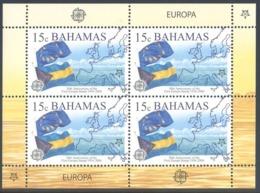 BAHAMAS 2005 EUROPA CEPT 50th ANNIV.  15 Cent Sheet MNH SC# 1150 YT 1213 - MI 1224 - Bahama's (1973-...)
