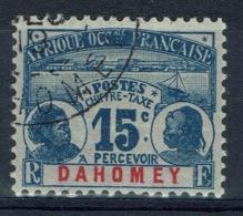 Dahomey (Benin), 15c. Postage Due, 1906, VFU - Dahomey (1899-1944)