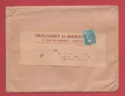 """Publicité""""FRIPOUNET ET MARISETTE""""coeurs âmes Vaillantes""""abbé JEANROY Curé DOMJULIEN""""REMONCOURT""""timbre Préo N°101 - Marcophilie (Lettres)"""
