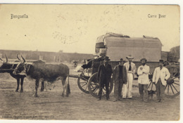 ANGOLA Benguella Carro Boer 1909 RRRRRRRRRR - Angola