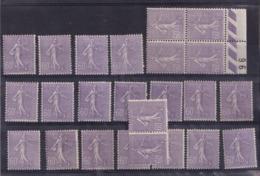 Lot De Semeuse 200 Neuf** Et * - 1903-60 Semeuse Lignée