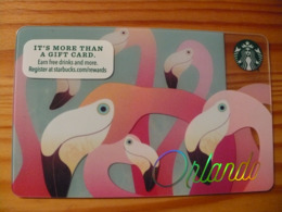 Starbucks Gift Card USA - 2015 6125 Orlando - Gift Cards