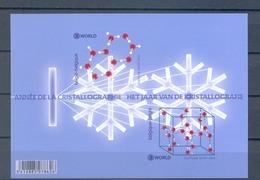Blok 216** Het Internationale Jaar V/d Kristallografie 4423/24** Cristallographie - Blocs 1962-....