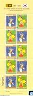 Sri Lanka Stamps 2017, Joint Issue, 40th South Korea Diplomatic Relations, Mini-sheet - Sri Lanka (Ceylon) (1948-...)