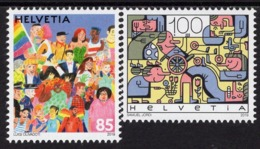 Switzerland - 2019 - Social Diversity - Joint Issue With Luxembourg - Mint Stamp Set - Switzerland