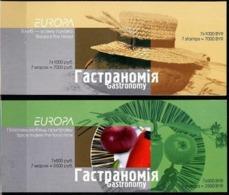 Belarus Europe Europa 2005, 2 Booklets - 2005
