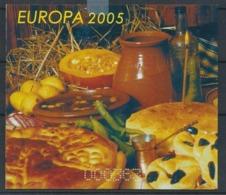 Bulgaria Europe Europa 2005, Booklet - 2005