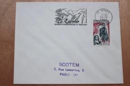974 La Réunion - Flamme 1966 - St BENOIT - Barrage Hydroélectrique De Takamaka - Mechanical Postmarks (Advertisement)