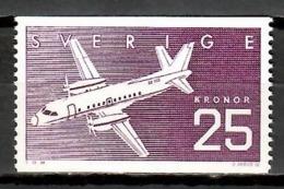 Sweden 1987 Suecia / Aviation Aircrafts Airplanes MNH Luftfahrt Aviación Aviones / Kb29  2-2 - Aviones