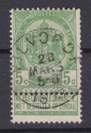 N° 56 VILVORDE - 1893-1907 Coat Of Arms