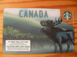 Starbucks Gift Card Canada - 2018 6168 - Gift Cards
