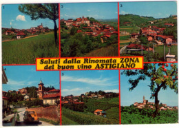 Saluti Dall'Astigiano. Multivisione. VG. - Asti
