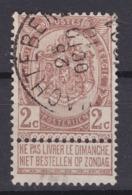 N° 55 WACHTEBEKE - 1893-1907 Armoiries
