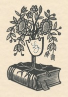 Ex Libris LZ - Hermann Huffert (1915-1995) - Ex-libris
