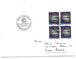 Suisse Enveloppe 1 Er Jour 1000 Lausane Timbres  Pro Patria - FDC