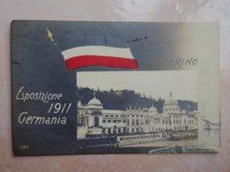CPA ITALIE TURIN Saluti Da TORINO Esposizione 1911 Germania - Exhibitions