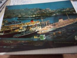 GENOVA PORTO NAVE SHIP DI NOTTE    VB1964 X ESTERO HG1774 - Genova