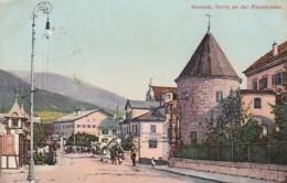 2511236Bruneck, Partie An Der Rienzbrücke 1910 (sehe Ecken) - Italie