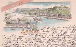 2511285Gruss Aus Linz, 1894 (mehrfache Falte) - Linz