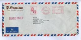 HONG KONG COMMERCIAL COVER, CIRCULATED TO LUIS GUILLON, BUENOS AIRES, ARGENTINA. YEAR 1981 AIR MAIL -LILHU - Hong Kong (...-1997)