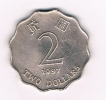 2 DOLLAR 1997 HONGKONG /8555/ - Hongkong