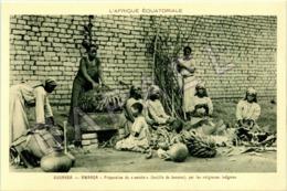 Bwanda - Ouganda (A.E.F.) - Préparation Du ''Matoké'' Par Les Religieuses - Oeganda