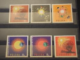 POLONIA - 1965 SOLE CALMO 6 VALORI - NUOVi(++) - Nuovi