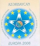 Azerbaijan, 2006, Europe, Europa Integration, Booklet - 2006