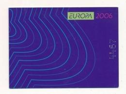 Bulgaria, 2006, Europe, Europa Integration, Booklet - 2006
