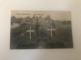 Frasnes-lez-Couvin  Mariembourg  Tombes Allemandes  PREMIERE GUERRE MONDIALE - Couvin