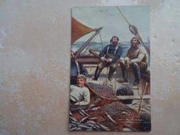 CPA Raphael TUCK Oilette North Sea Fishermen Returning To Harbour - Tuck, Raphael
