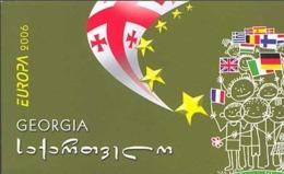 Georgia, 2006, Europe, Europa Integration, Booklet - 2006