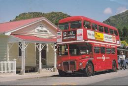 Neuseeland - Arrowtown - Queenstown - Postoffice - Double Decker Bus - Nice Stamp - Neuseeland