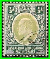 EAST AFRICA AND UGANDA PROTECTORATES KING EDWARD VII - SELLO AÑO 1903 - Uganda (1962-...)