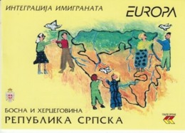 Bosnia-Serpska, 2006, Europe, Europa Integration, Booklet - 2006