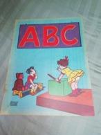 Ancien Album à Colorier ABC Dessins Signés EVARISTE 1952 - Books, Magazines, Comics