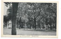 CPA DUN SUR AURON, PLACE DES ORMES, CHER 18 - Dun-sur-Auron