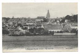 CPA DUN SUR AURON, VUE GENERALE, CHER 18 - Dun-sur-Auron