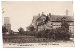 CPA DUN SUR AURON, LA COLONIE FAMILIALE ET LE CHATEAU D'EAU, CHER 18 - Dun-sur-Auron