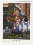 {76164} 75 Paris Beaubourg Place Igor Stravinsky , Sculpture De Niki De Saint Phalle Et Jean Tinguely ; Animée - France