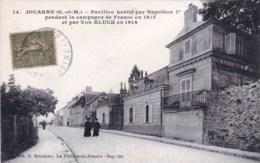 77 - Seine Et Marne -  JOUARRE - Pavillon Habité Par Napoleon Ier En 1815 - France