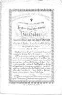 Jeanne Josephe Marie Van Caloen ( Lppem 1784 -1855) - Religion & Esotérisme
