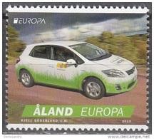 Aland 2013 Yvert 376 Neuf ** Cote (2015) 3.00 Euro Europa CEPT Voiture Postale - Aland