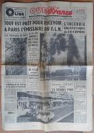24 H Du Mans 1960.Pluie D'orage Sur Le Circuit.Les Eléphants Du Cirque Pinder Dans Le Loir Au Lude.Cyclisme. - Newspapers