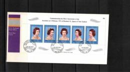 New Zealand 1977 Queen Elisabeth II Block FDC - FDC