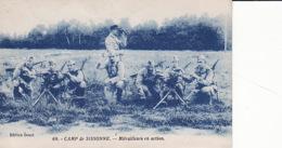 1WO  76Camp De Sissonne, Mitrailleurs En Action - War 1914-18
