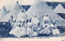 1WO  97Camp De Sissonne, Les Riffains Au Camp - Unclassified