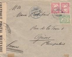 Nederlands-Indië Censor Brief 1917 - Niederländisch-Indien
