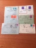 +++ Sammlung Slovensko & Hungary Besetzung 6 Briefe  Ab 1938 +++ - Briefmarken